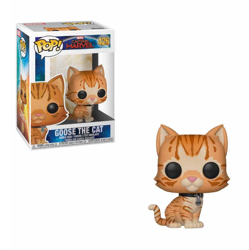 Funko POP: Captain Marvel - Goose the Cat 10 cm