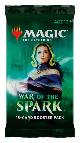 Magic the Gathering TCG: War of the Spark - Booster Pack