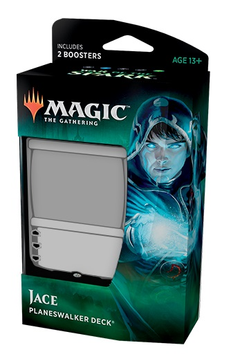 Magic the Gathering TCG: War of the Spark - Planeswalker Deck Jace