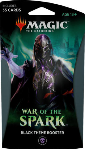 Magic the Gathering TCG: War of the Spark - Theme Booster BLACK
