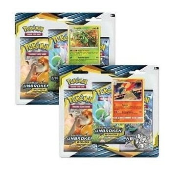 Pokémon TCG: Sun & Moon Unbroken Bonds - 3-PACK BLISTER