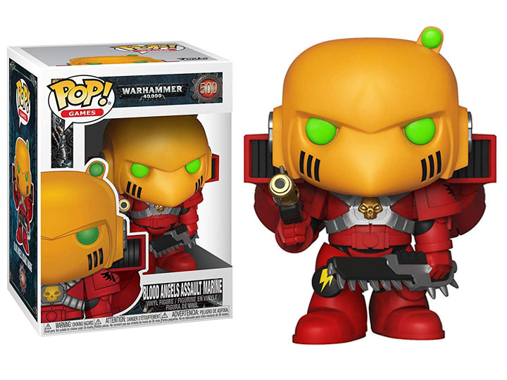 Funko POP: Warhammer 40K - Blood Angels Assault Marine 10 cm