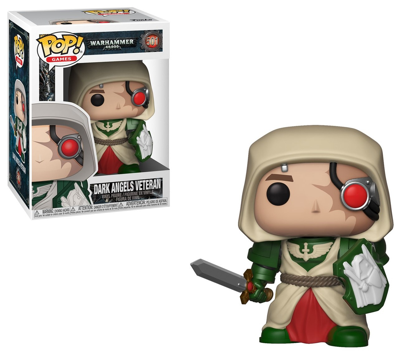 Funko POP: Warhammer 40K - Dark Angels Veteran 10 cm