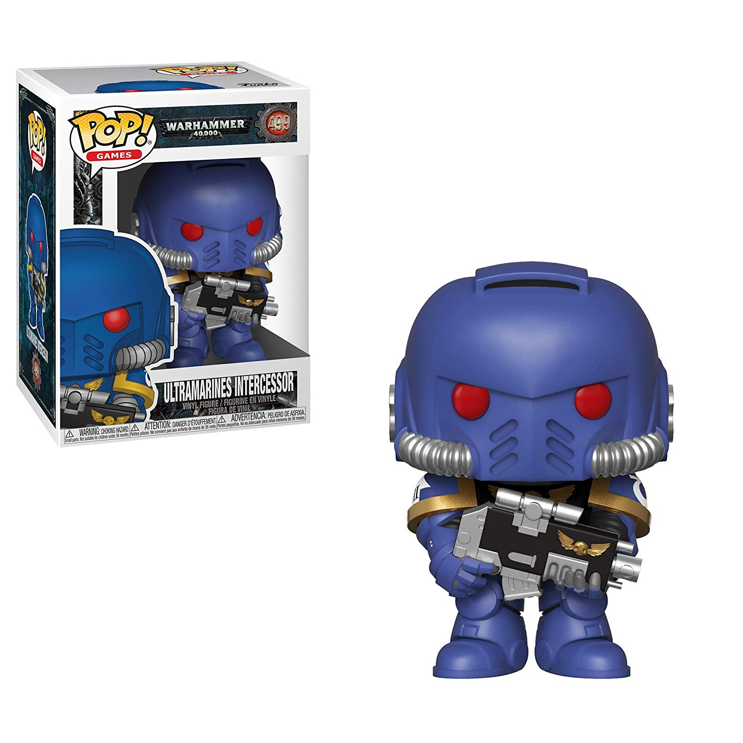 Funko POP: Warhammer 40K - Ultramarines Intercessor 10 cm