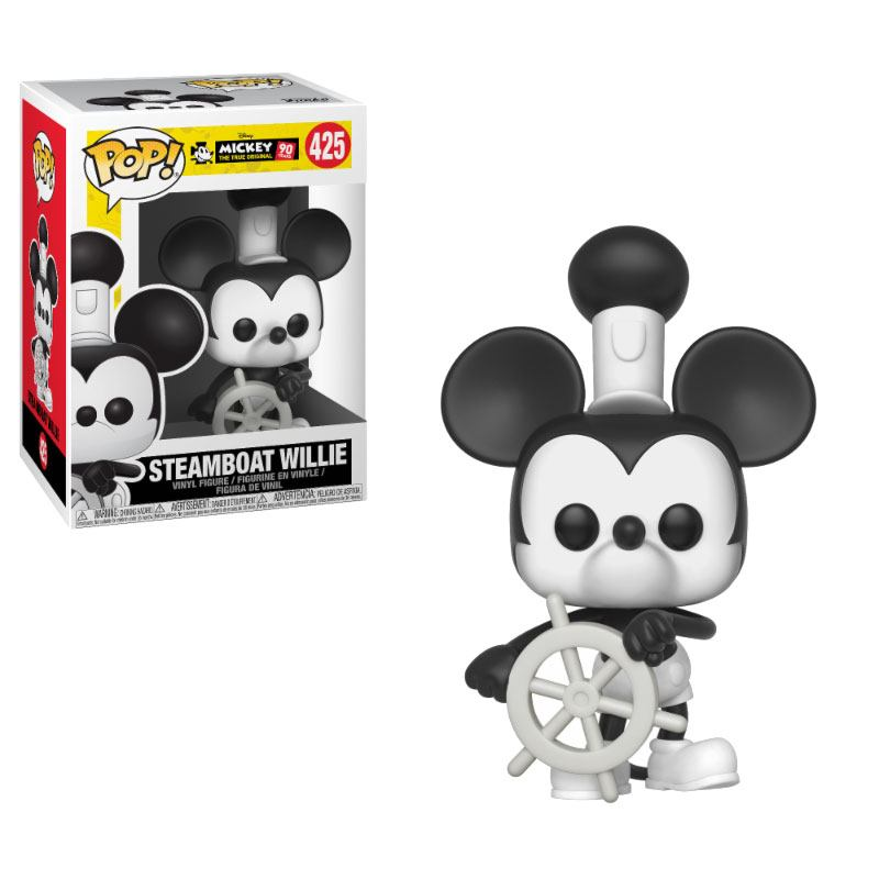 Funko POP: Mickey Mouse 90th Anniversary - Steamboat Willie 10 cm