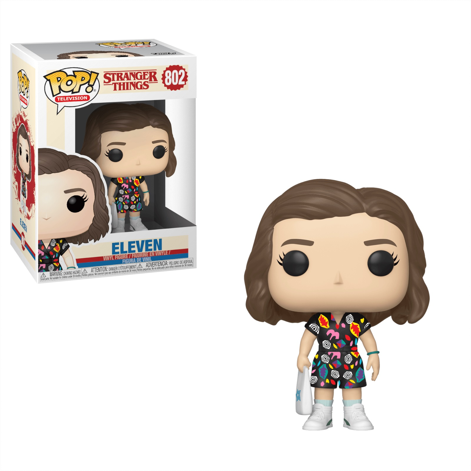 Funko POP: Stranger Things S3 - Eleven (Mall Outfit) 10 cm