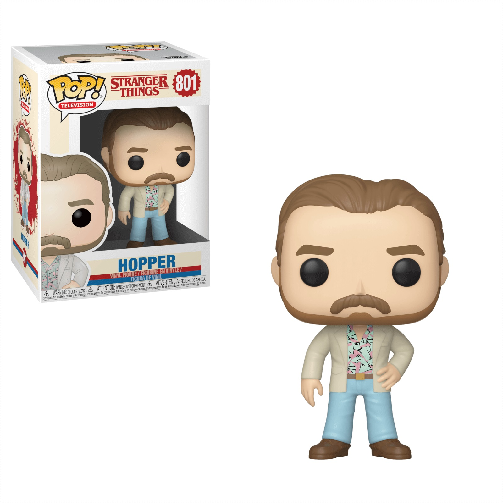 Funko POP: Stranger Things S3 - Hopper (Date Night) 10 cm