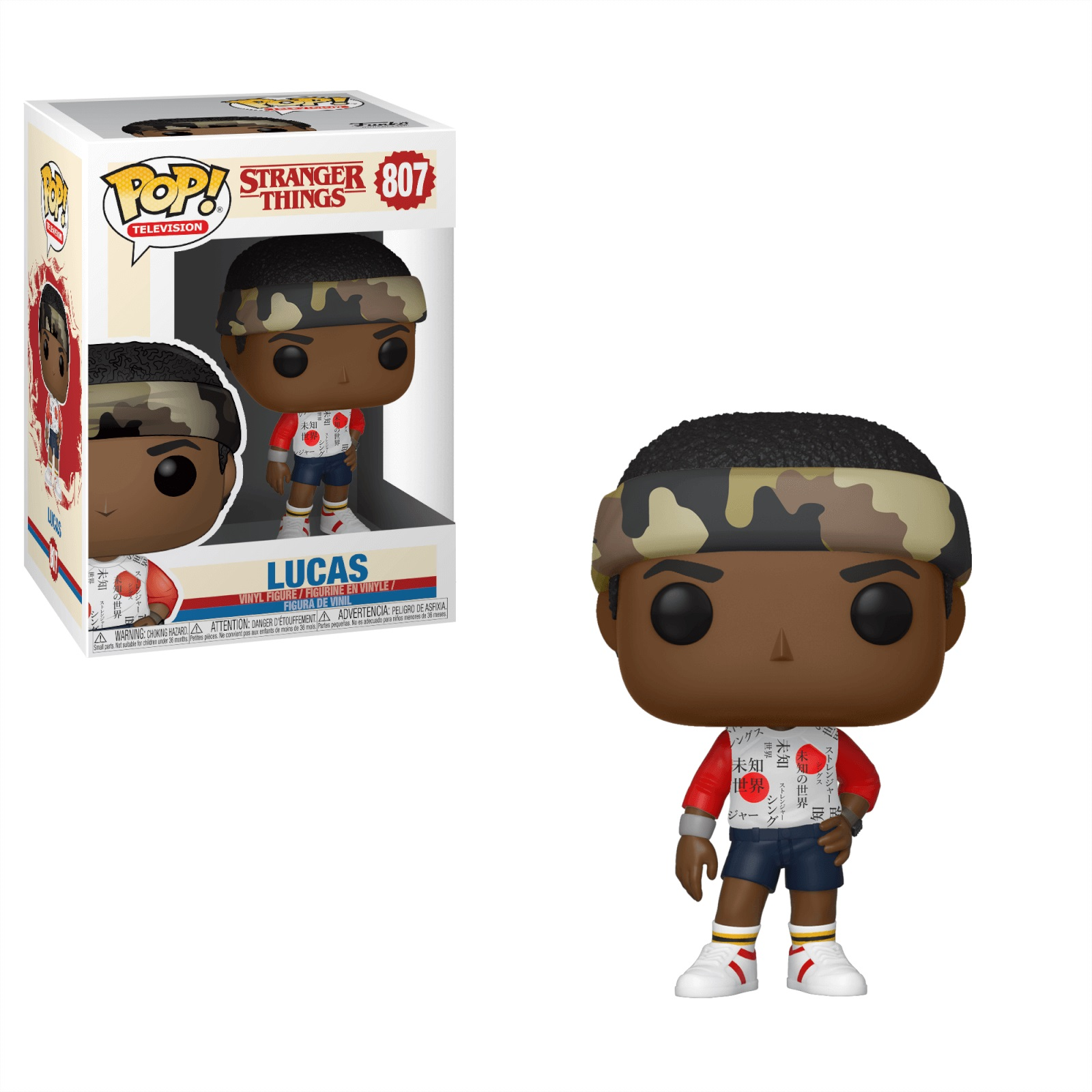 Funko POP: Stranger Things S3 - Lucas 10 cm