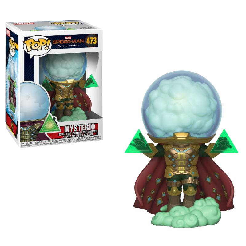 Funko POP: Spider-Man: Far From Home - Mysterio 10 cm