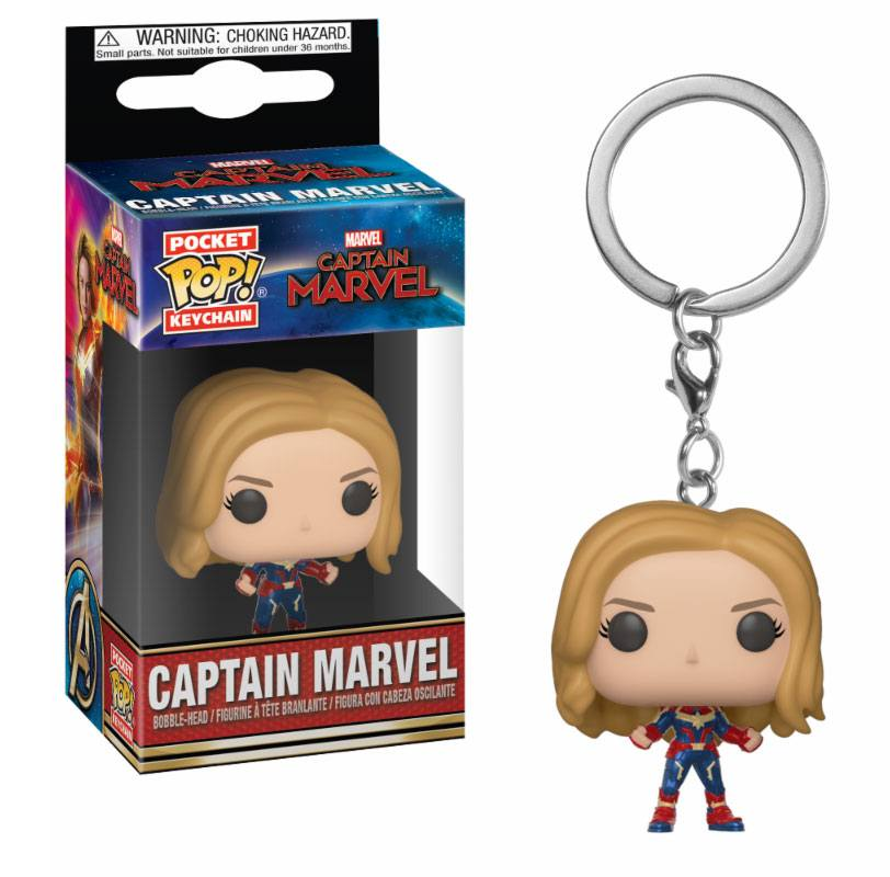 Kľúčenka POP: Captain Marvel 4 cm