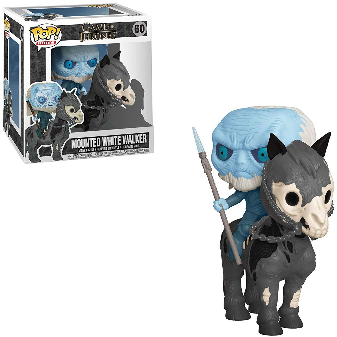 Funko POP: Game of Thrones - White Walker on Horse 15 cm