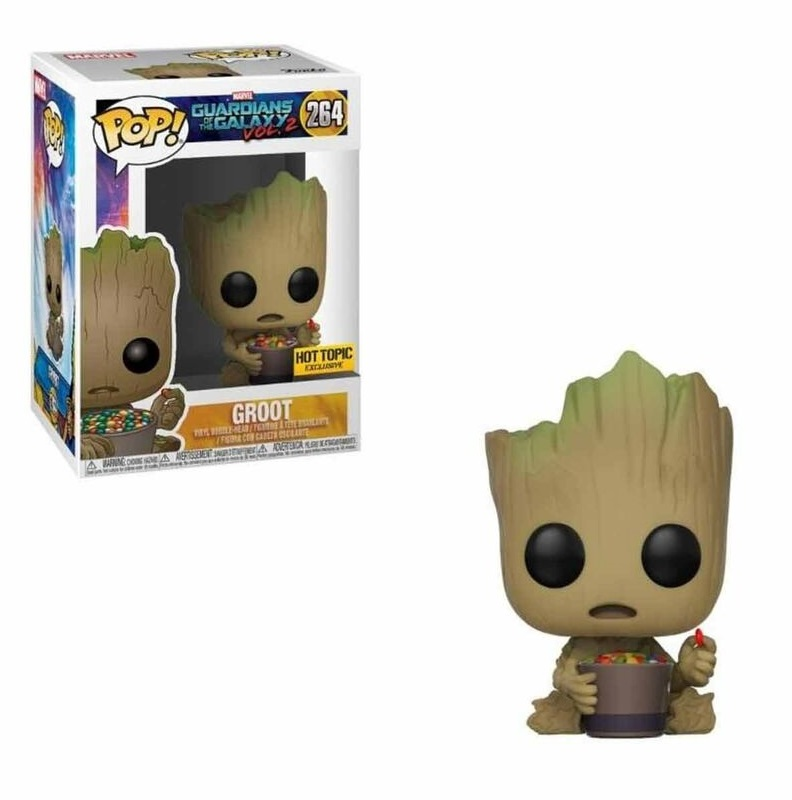 Funko POP: Guardians of the Galaxy 2 - Groot & Candy Bowl 8 cm