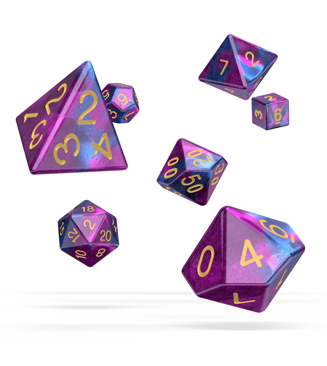 Kocka Set (7) - Oakie Doakie Dice RPG Set Gemidice - Amethyst