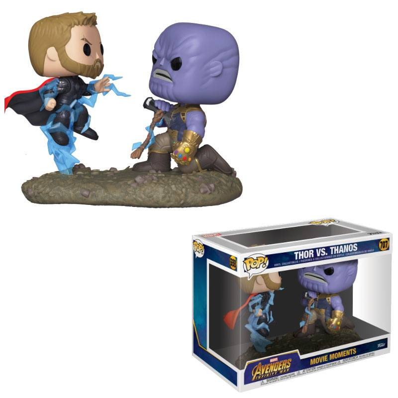 Funko POP: Avengers Movie Moments - Thor & Thanos