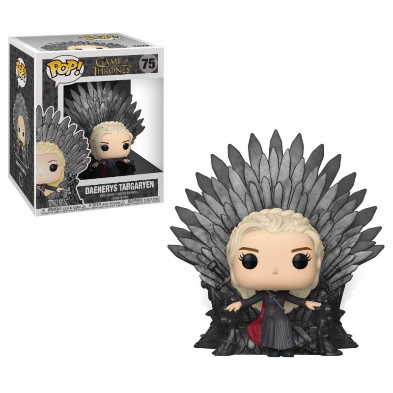 Funko POP: Game of Thrones - Daenerys (Iron Throne) 10 cm