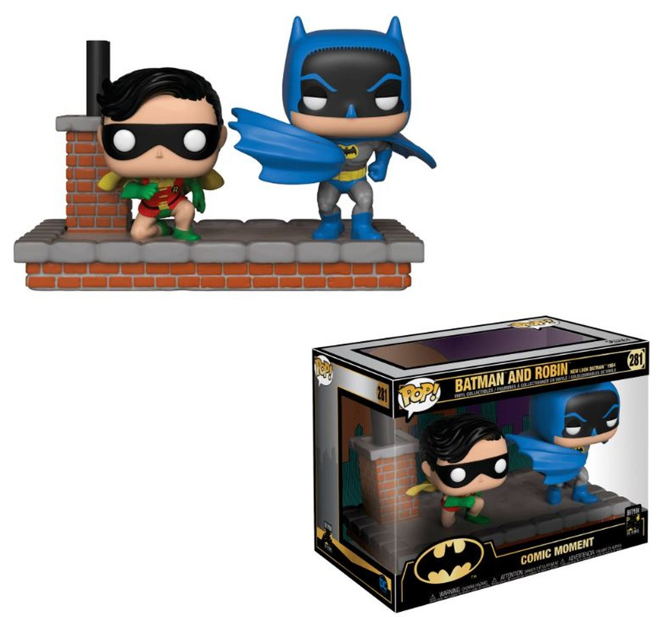 Funko POP: Batman 80th -  2-Pack Batman & Robin (1964) 10 cm