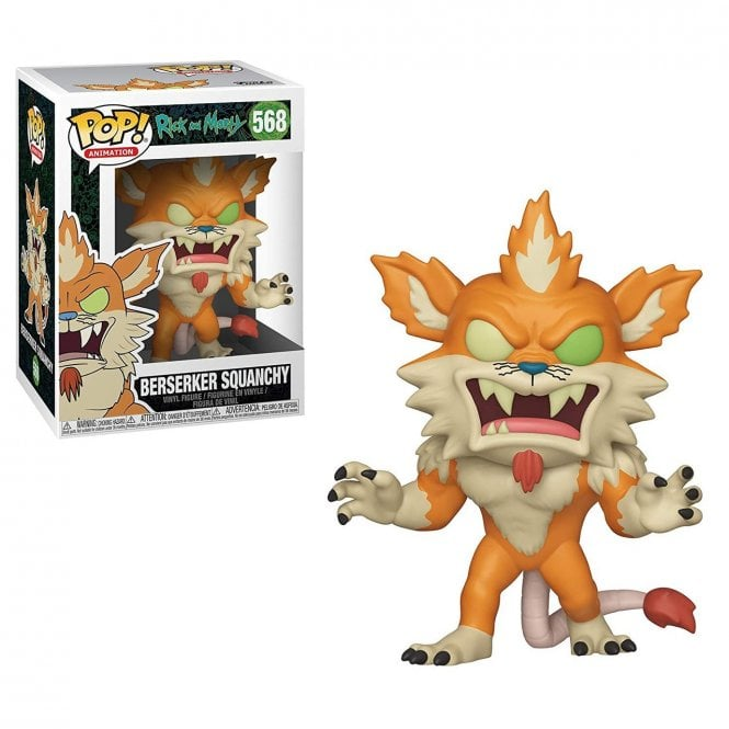 Funko POP: Rick and Morty - Berserker Squanchy 10 cm
