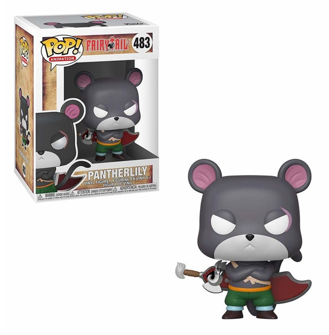 Funko POP: Fairy Tail - Pantherlily 10 cm