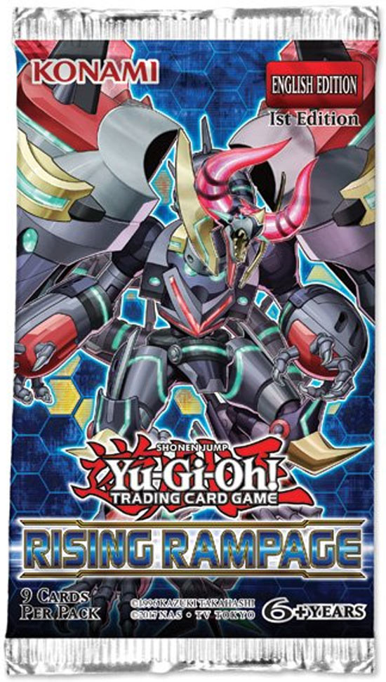 Yu-gi-oh TCG: Rising Rampage Booster Pack