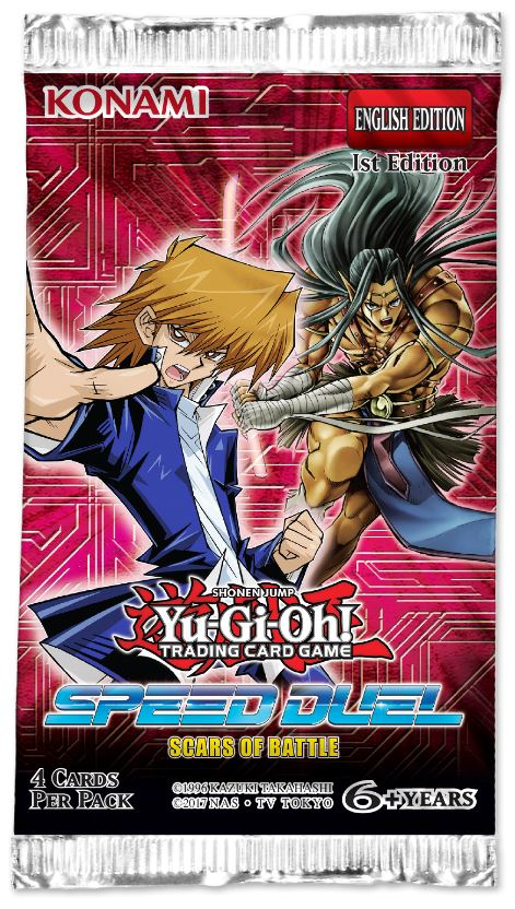 Yu-gi-oh TCG: Spped Duel - Scars of Battle Booster Pack