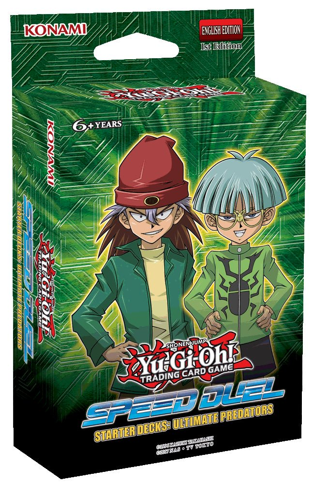 Yu-gi-oh TCG: Speed Duel Starter Decks: Ultimate Predators