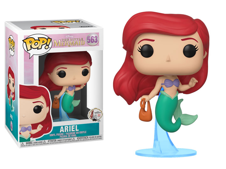 Funko POP: The Little Mermaid - Ariel with Bag 10 cm