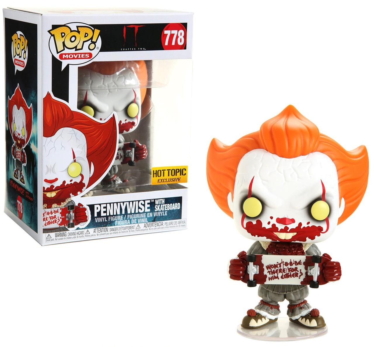 Funko POP: IT 2 - Pennywise with Skateboard 10 cm