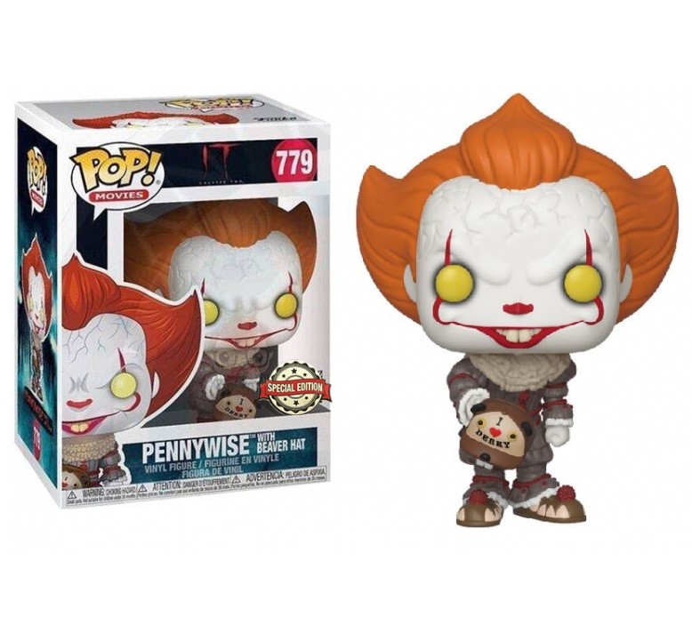 Funko POP: IT 2 - Pennywise with Beaver Hat 10 cm