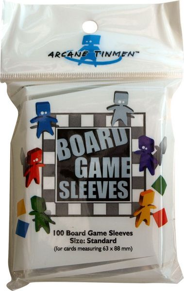 Obal Board Game Sleeves 63x88mm, standard