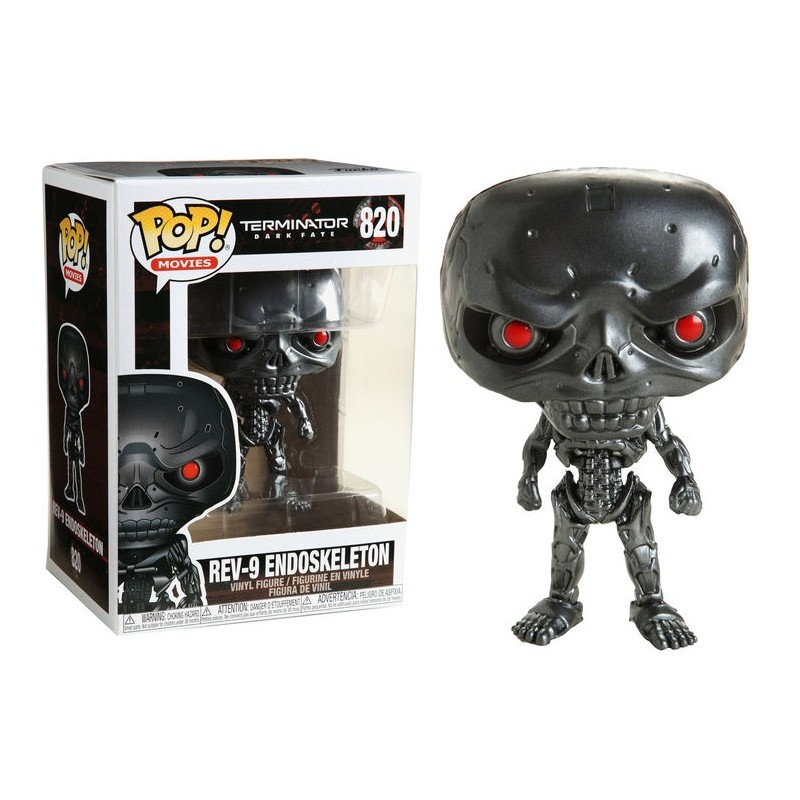Funko POP: Terminator: Dark Fate - REV-9 10 cm