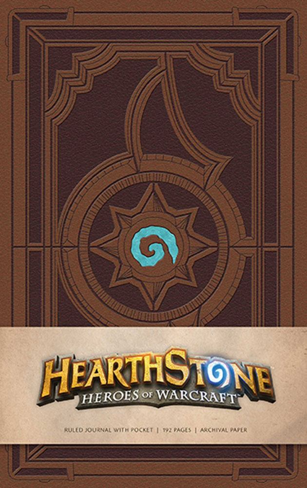 Zápisník - Hearthstone: Heroes of Warcraft Hardcover Ruled Journal Logo