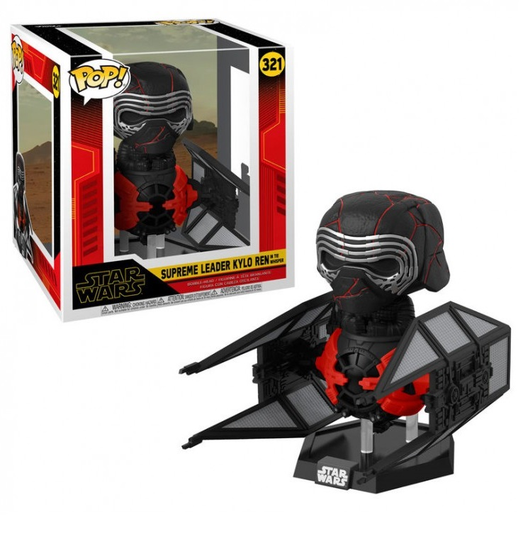 Funko POP: Star Wars Episode 9 - Kylo Ren Deluxe 10 cm