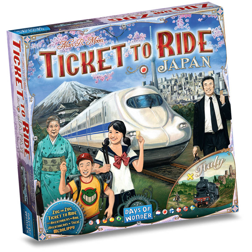 Ticket to Ride Japan & Italy: Map Collection EN