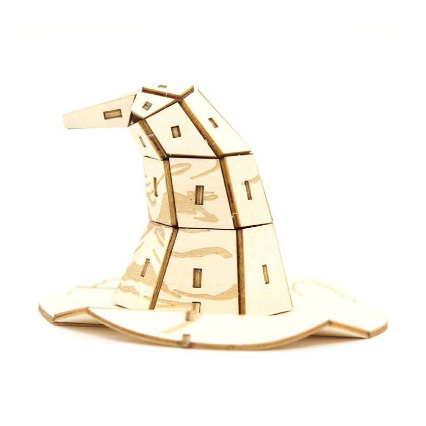 Model - Harry Potter IncrediBuilds 3D Wood Model Kit Sorting Hat