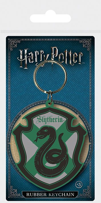 Kľúčenka Harry Potter Rubber Keychain Slytherin 6 cm