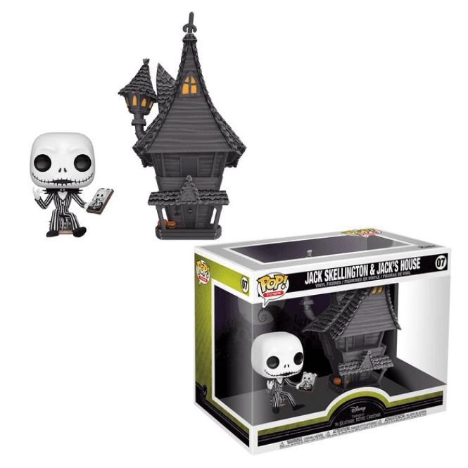 Funko POP: Nightmare before Christmas - Jack Skellington & House 15 cm