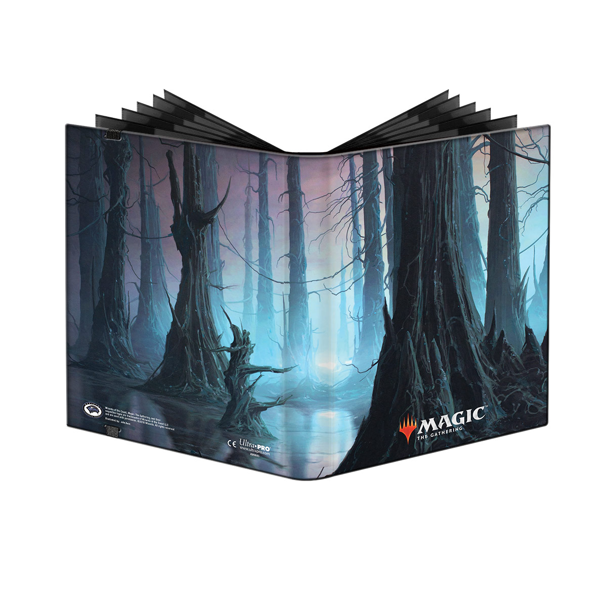 Album A4 UltraPRO PRO Binder - Unstable Lands Swamp
