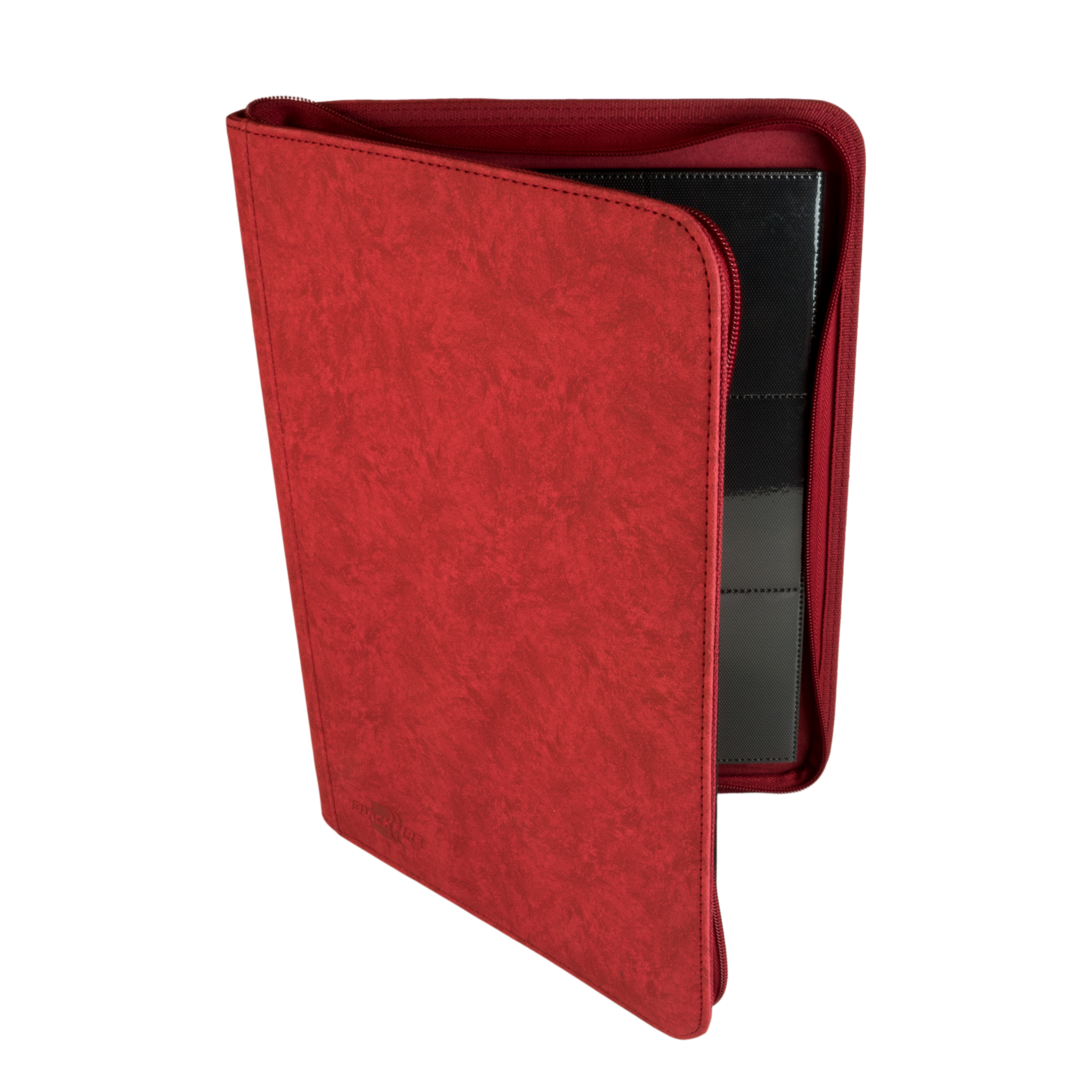 Album A4 BF 9-Pocket Premium ZIP Album - RED