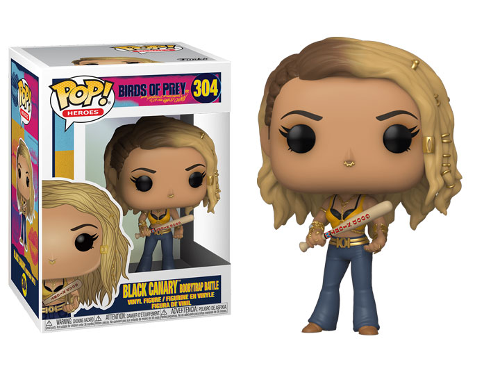 Funko POP: Birds of Prey - Black Canary (Boobytrap Battle) 10 cm