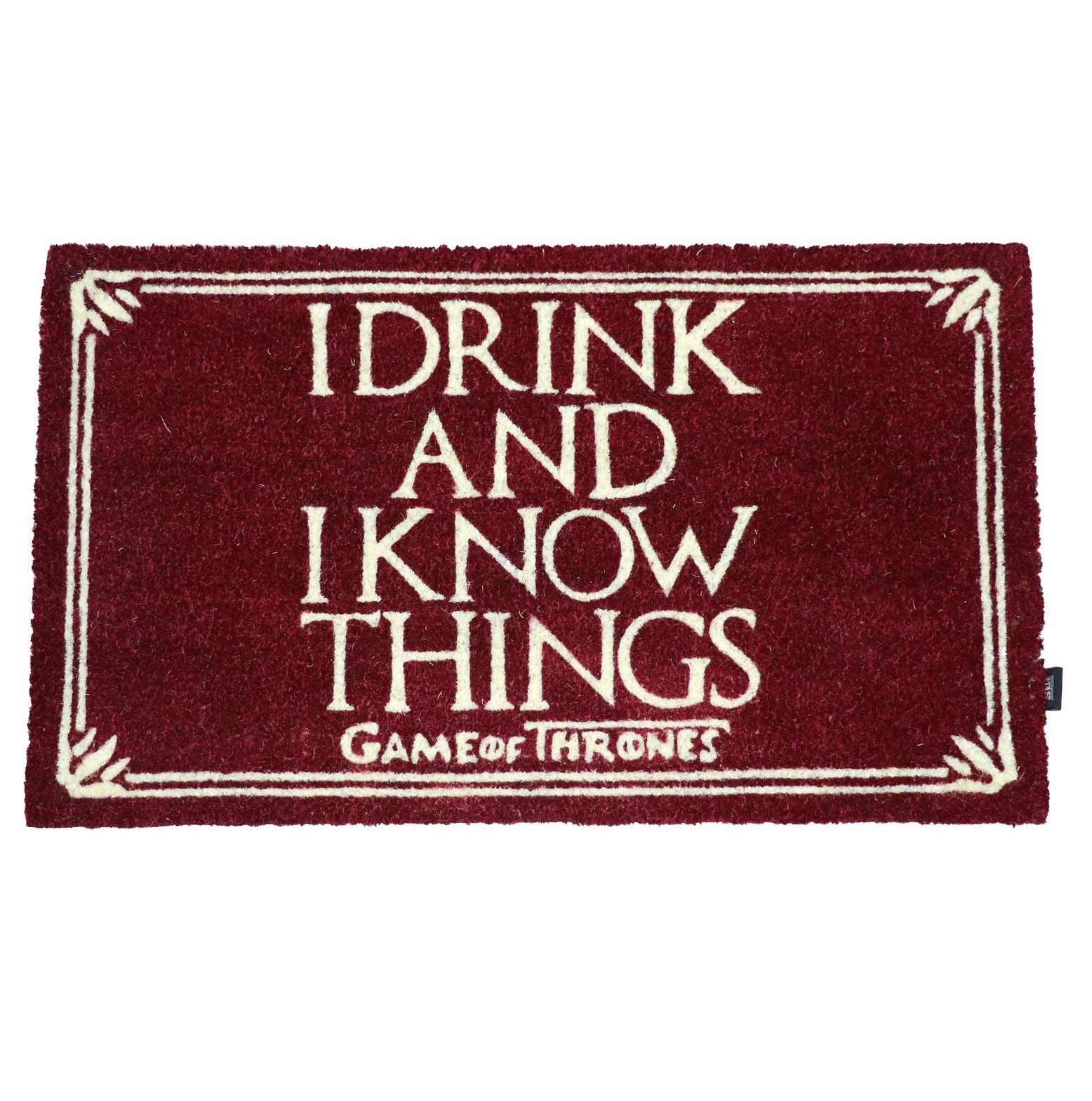 Rohožka - Game of Thrones Doormat I Drink And I Know Things 43 x 72 cm
