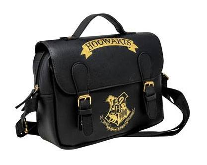 Taška Harry Potter Lunch Bag Hogwarts Black & Gold (Satchel Style)