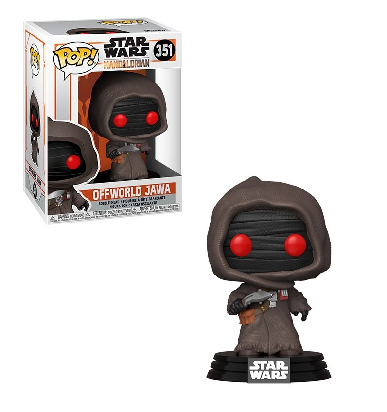Funko POP: Star Wars The Mandalorian - Offworld Jawa 10 cm