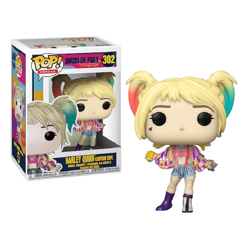 Funko POP: Birds of Prey - Harley Quinn (Caution Tape) 10 cm