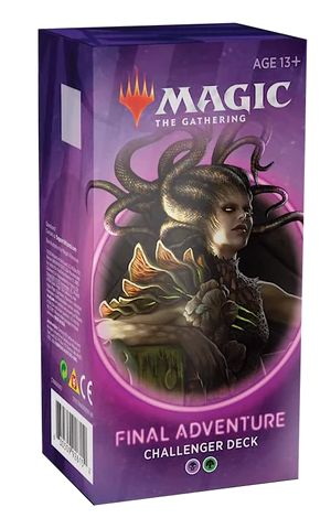 Magic The Gathering TCG: Challenger Deck 2020 - Final Adventure