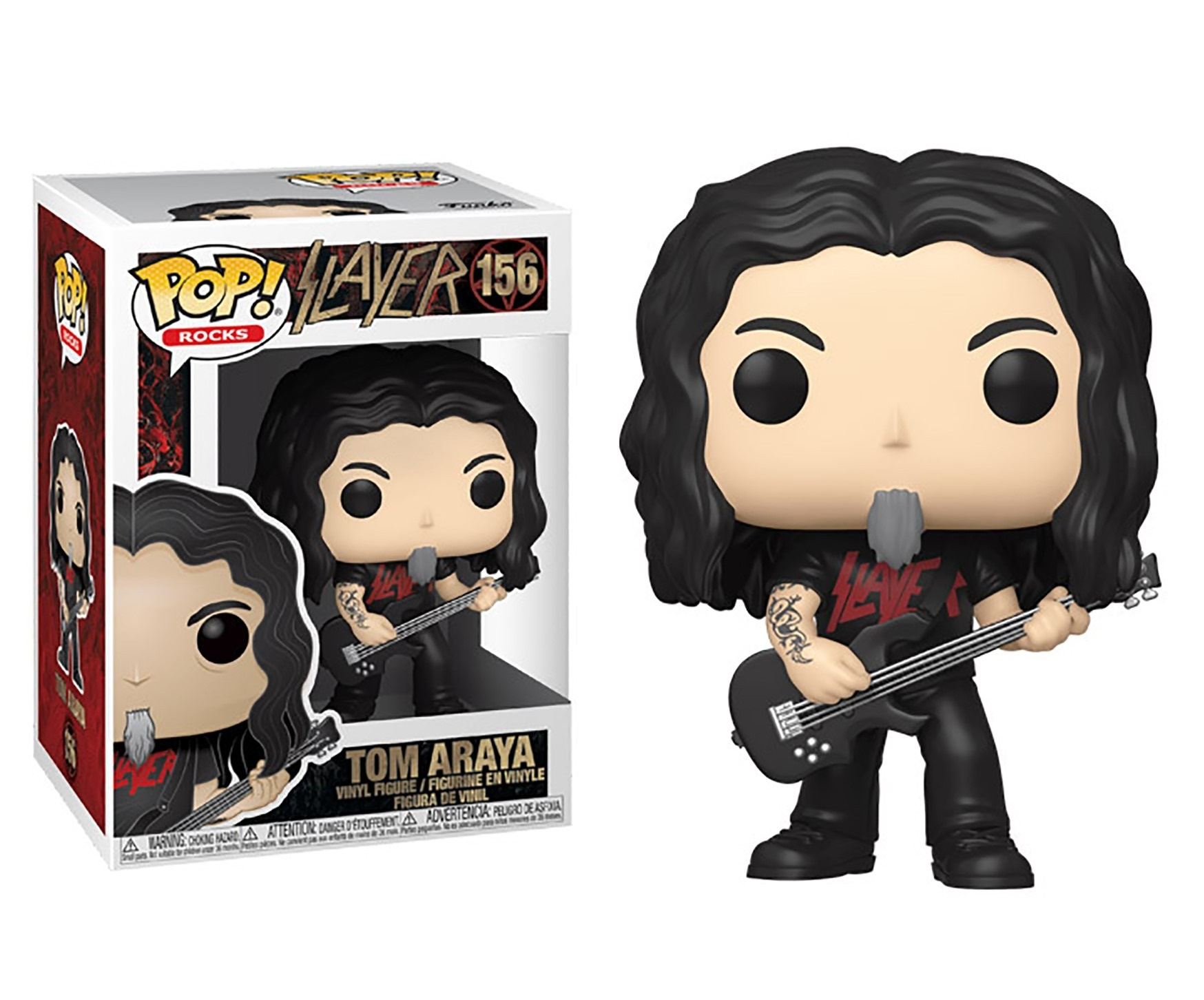 Funko POP: Rocks - Slayer: Tom Araya 10 cm