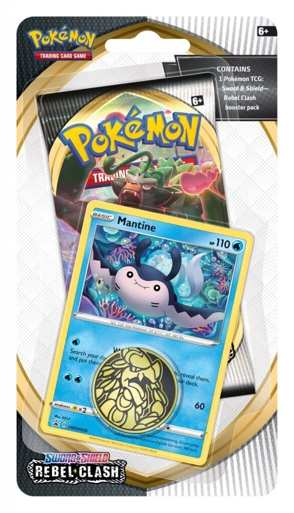 Pokémon TCG: Sword & Shield 02 Rebel Clash - CHECKLANE BLISTER
