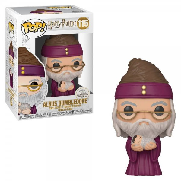 Funko POP: Harry Potter - Dumbledore with Baby Harry 10 cm