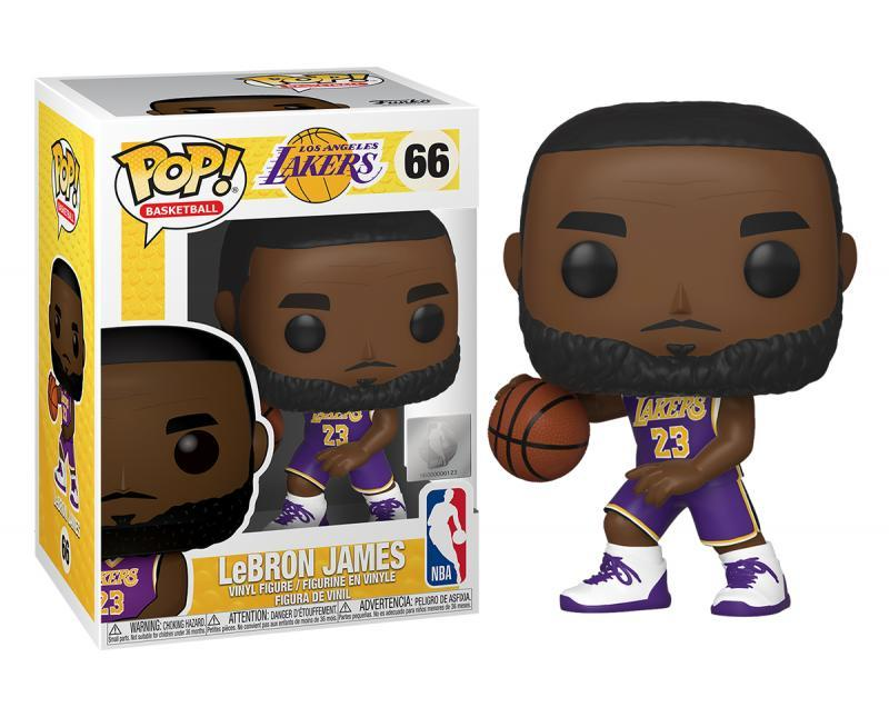 Funko POP: NBA - LeBron James (Lakers) 10 cm