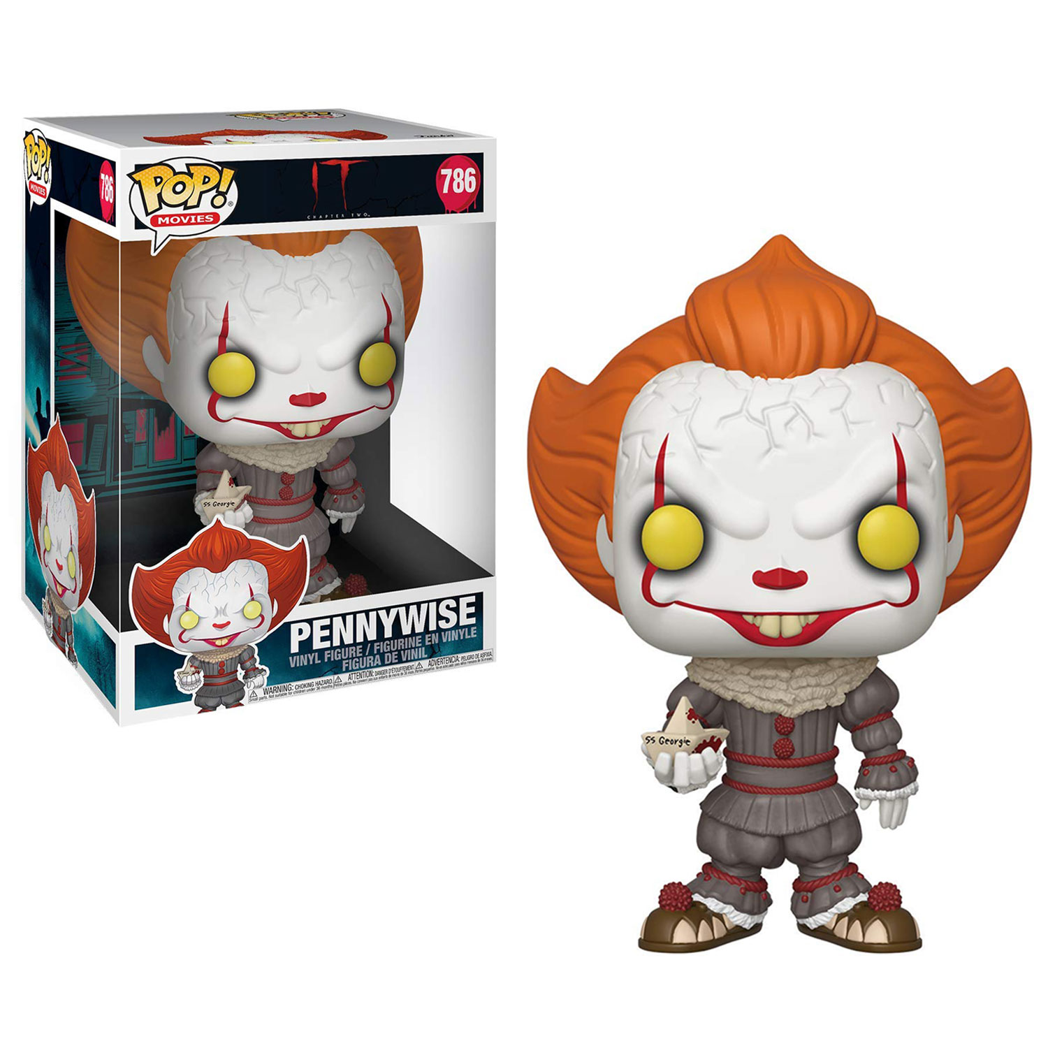 Funko POP: It - Pennywise with Boat Supersized 25 cm