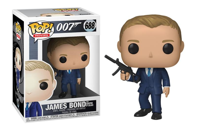 Funko POP: James Bond Daniel Craig (Quantum of Solace) 10 cm